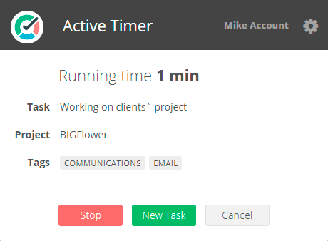 Active-Timer